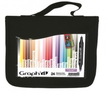 Graph It Marker set 2 with Free Blender & Wallet