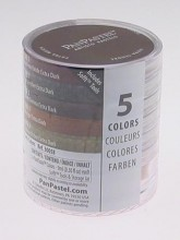 5 Colour PanPastel Set Earth Colours