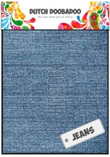 DDBD Jeans light 2 sheets 15x21cm