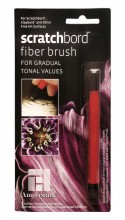 Scratchbord Fibre brush