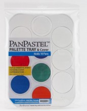 Palette/Tray with lid - holds 10 colours Supplied Empty