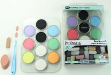 Pearlescent Colours & Mediums Palette set of 10
