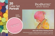 20 Colour PanPastel Set Portrait