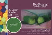 20 Colour PanPastel Set Shades