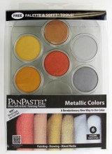 Metallic PanPastel Palette Set