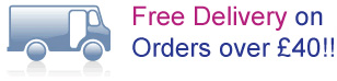 Free Shipping on order over �40